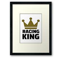 Racing king Framed Print