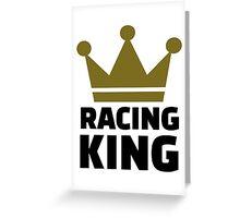 Racing king Greeting Card