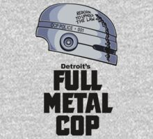 Full Metal Cop Kids Tee