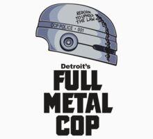 Full Metal Cop One Piece - Short Sleeve