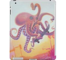 The Octopus Skater iPad Case/Skin