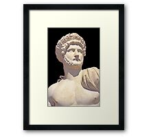 Emperor Hadrian Framed Print