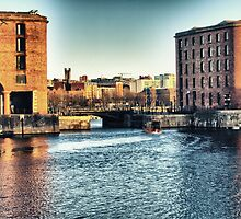 Albert Dock - Liverpool UK England by Glen Allen