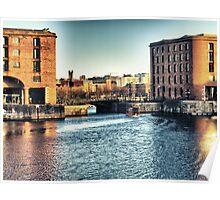 Albert Dock - Liverpool UK England Poster