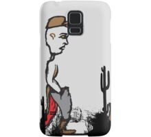 Back to the future Desert Isolation Samsung Galaxy Case/Skin