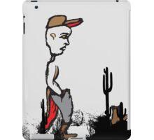 Back to the future Desert Isolation iPad Case/Skin