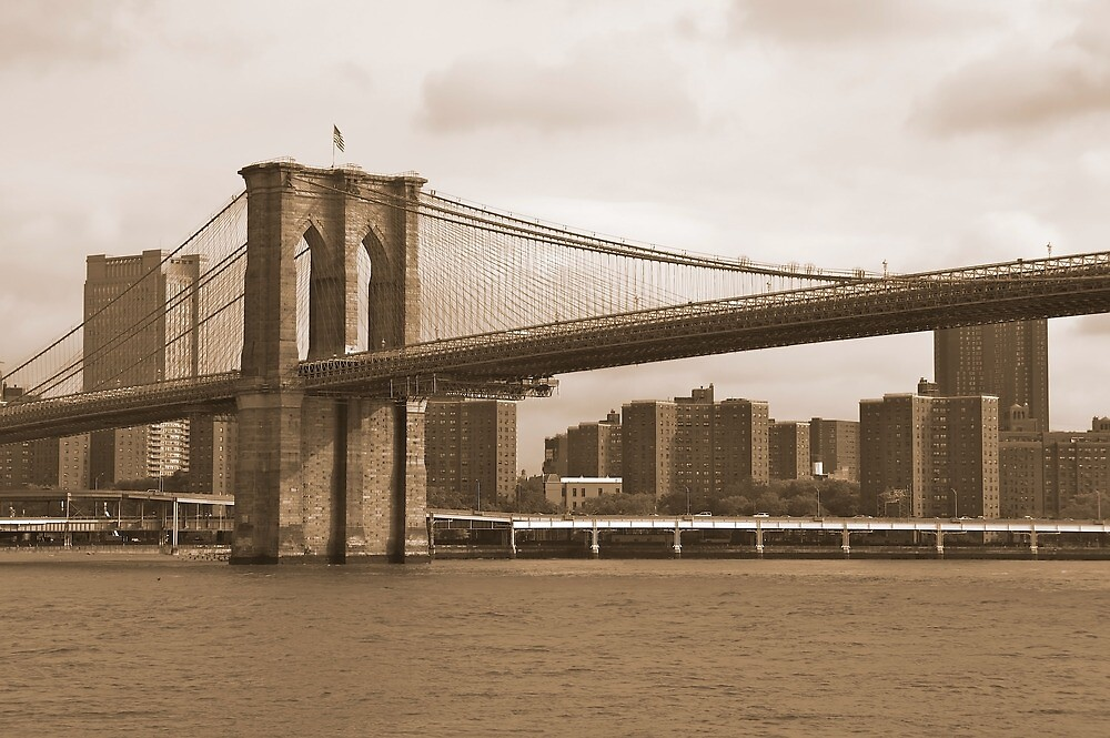 Brooklyn Bridge NYC by fernblacker