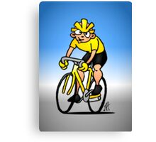 Cyclist - Cycling Canvas Print