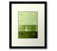 St. Patrick´s Day Shamrocks Framed Print