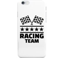Racing team iPhone Case/Skin