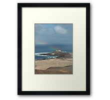 On top of beauty Framed Print