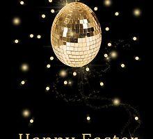 Disco Ball Easter Egg by sorayashan