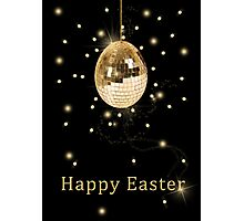 Disco Ball Easter Egg Photographic Print