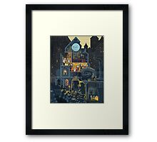 Scene #25: 'The Clock Tower' Framed Print
