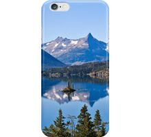 St Mary Lake, Glacier National Park, Montana, USA iPhone Case/Skin