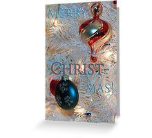 Merry Christ-mas! Greeting Card