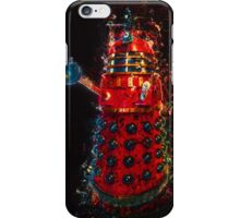 Dalek Fractal Flame, digital painting iPhone Case/Skin