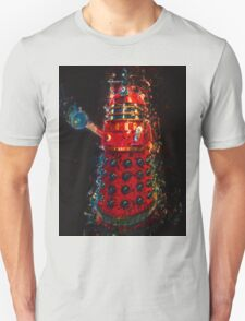 Dalek Fractal Flame, digital painting Unisex T-Shirt