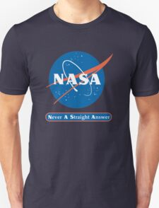 NASA Never A Straight Answer T-Shirt