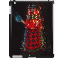 Dalek Fractal Flame, digital painting iPad Case/Skin