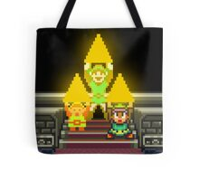Link Evolution with Triforce Tote Bag