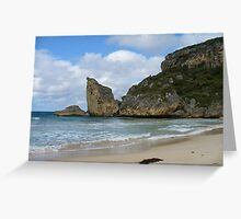 Cathedral Rock, Western Australia Greeting Card