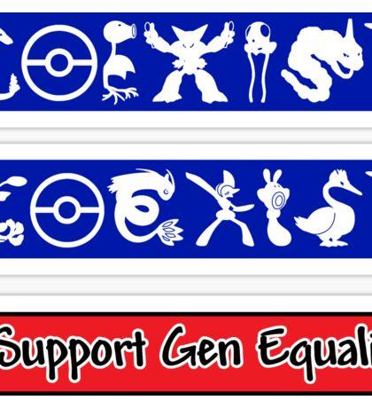 Sticker Pack! COEXIST - Gen Equality Sticker