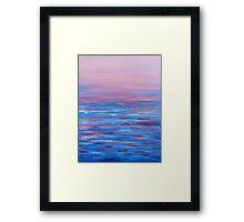 Rosy Twilight Framed Print