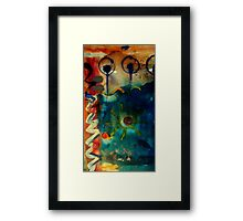 My Own Painted Desert - WIP Framed Print