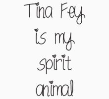 Tina Fey is my spirit animal by katymoe97