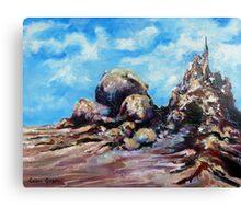 Blue Canopy Canvas Print