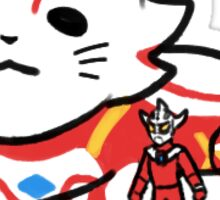 [Ultraman] Ultraman Mebius (Cat ver.) Sticker