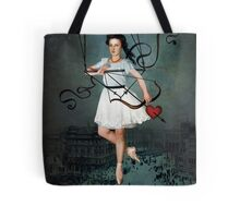 Hit by your love Tote Bag