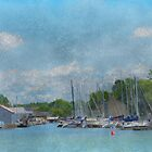 Caseville Marina by enchantedImages