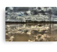 Big Muddy River Canvas Print