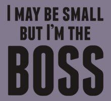 I'm The Boss Kids Tee