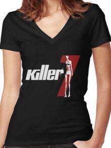 Killer7 Women's Fitted V-Neck T-Shirt