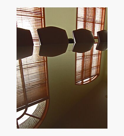 Office Reflection Photographic Print