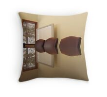 Office Reflection 7 Throw Pillow
