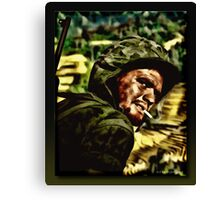 The Marine Canvas Print