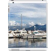 Vesuvius and Naples Harbor - Mediterranean Impressions iPad Case/Skin