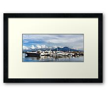 Vesuvius and Naples Harbor - Mediterranean Impressions Framed Print