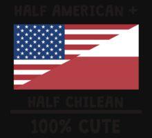 Half Chilean 100% Cute Kids Tee