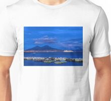 Blue Night in Naples - Mediterranean Impressions Unisex T-Shirt