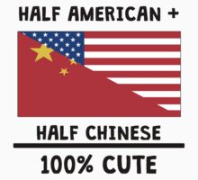 Half Chinese 100% Cute Kids Tee