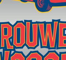 The Brouwer Wagon Sticker