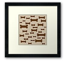 Dog Biscuits! Framed Print