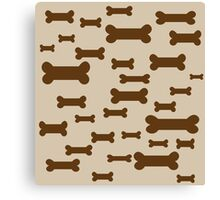 Dog Biscuits! Canvas Print