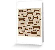 Dog Biscuits! Greeting Card