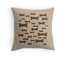 Dog Biscuits! Throw Pillow
